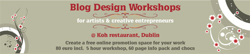 blog design workshops in Dublin